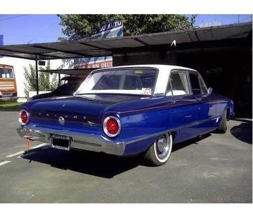 Ford Falcon 1965 Deluxe Motor Sp 221 Único