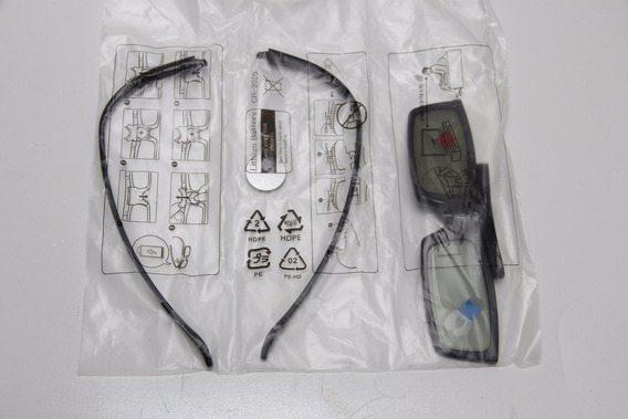 Oculos 3d Samsung Ativo Ssg 5100gb Smart Tv Led Curva Novo