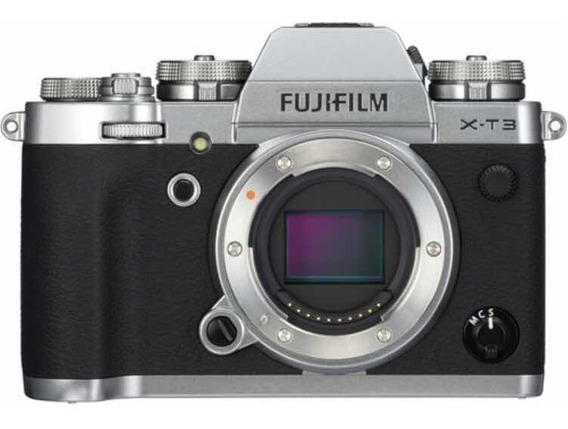 Camera Fuji Xt3 - Fujifilm Xt-3 - Prata - Corpo Zerada