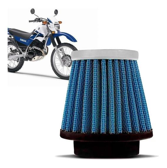 Filtro Esportivo Inbox Yamaha Xt225 50mm Azul Racechrome