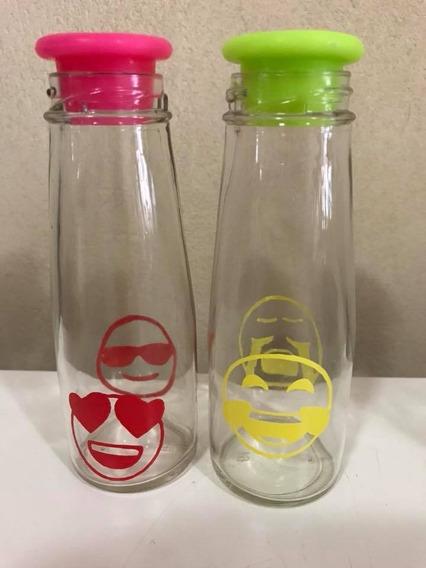 Botella Frasco Vidrio Personalizados 15 Años Souvenir