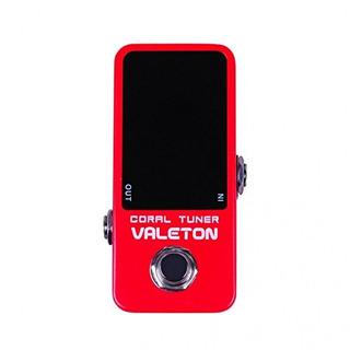 Valeton Ctu-1coral Afinador Cromático Guitarra Pedal De Efe