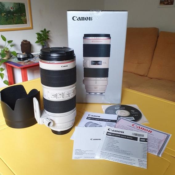 Lente Canon 70 200 F2.8