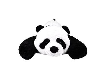 Panda Acostado De Peluche 100 Cm Pelucheria Internacional