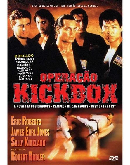 Operação Kickboxer 1,2,3 E 4 - Dublados