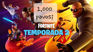 Fortnite 1000 Pavos Pc/ps4/xbox/nintendo/ Al Instante 24hs