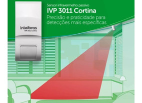 Sensor Intelbras Ivp 3011 Cortina Proteção Anti Violação Top