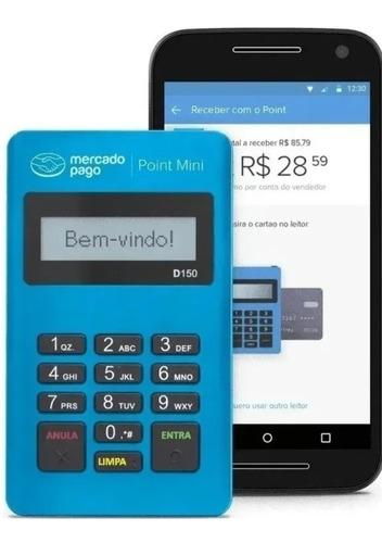 Kit C/ 10 Maquina De Cartão Point Mini Do Mercado Pago D150