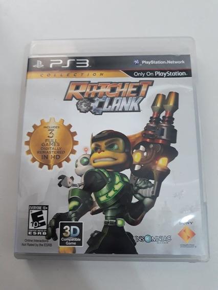Ratchet Clank Collection Ps3 Mídia Física