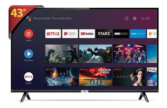 Tv Led 43 Smart 43s6500fs Tcl Un - Unica