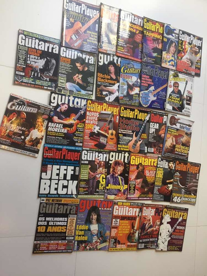 Revista Guitar Player (5,00 Cada)