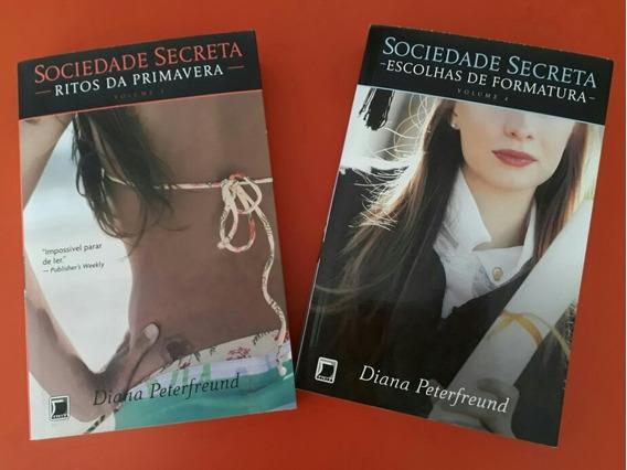 Livros Sociedade Secreta: Volumes 03 E 04