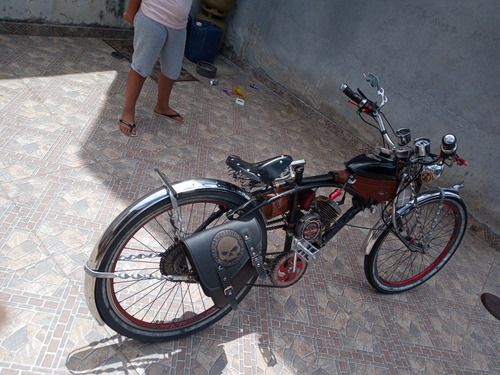 Imagem 1 de 5 de Bike Motorizada .