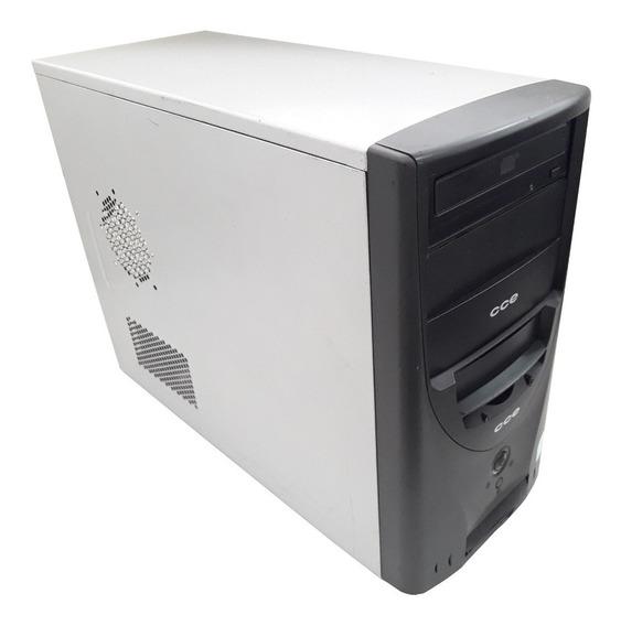 Cpu Pc Desktop Computador Cce Hd 320gb 2gb Ram Windows 7