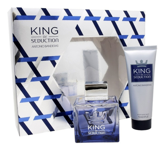 Set King Of Seduction 2pzs 100 Ml Edt Spray + After Shave 75