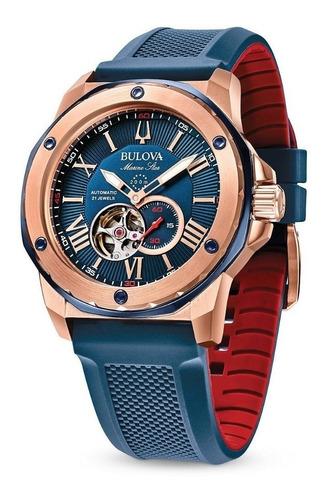 Relógio Bulova Marine Star Automático 98a227