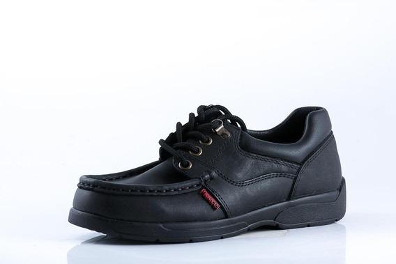 Zapato Marcel Nino Colegial Negro 343_3
