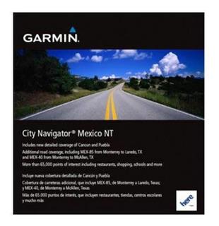 Mapa Garmin 2021 City Navigator México Nuevo Gps Envío Email