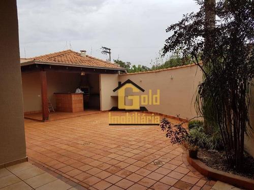 Casa 3 Dormitórios 218m² / R$ 350.000,00  - Jardim Palmares - Ribeirão Preto Sp - Ca0598