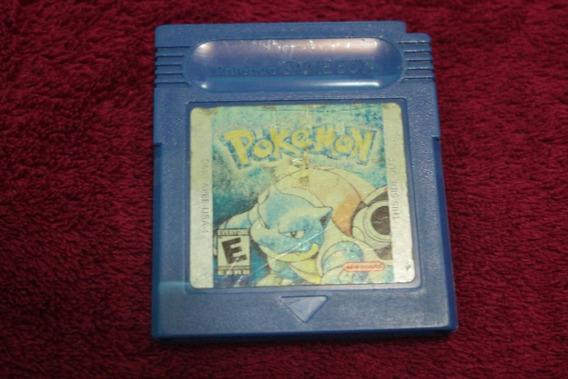 Pokemon Blue Original Americano Para Game Boy Gbc Gba