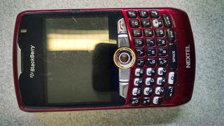 Nextel Blackberry Curve 8350i Vermelho Íden + Acessórios