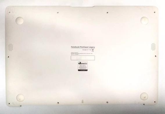 Carcaça Base Notebook Multilaser Legacy Pc102 Branca
