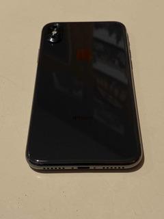 iPhone X 256g+gorila Glass Colocado+otro Extra Spigen+funda