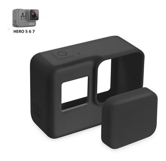Capa Protetora De Silicone Camera - Gopro Hero5 Hero6 Hero7