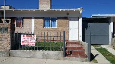 Alquiler Casa-5 Pers. Carlos Paz/2018- 1.000 $ P/d.-