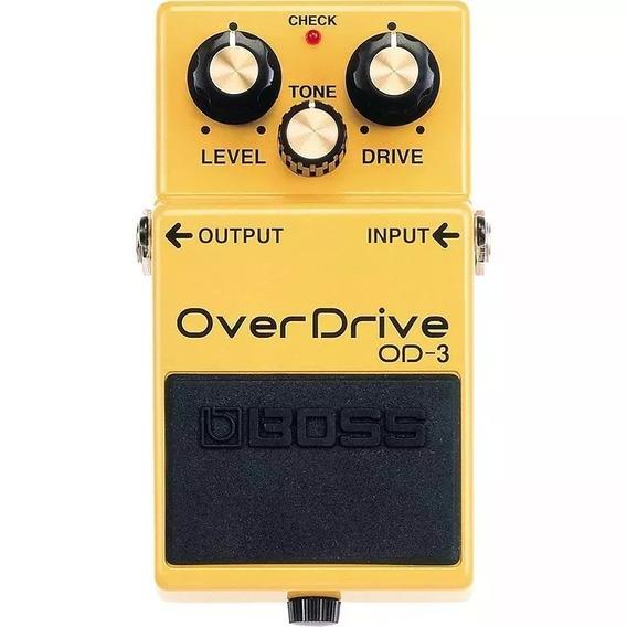 Pedal Boss Od3 Overdrive + Nf E Garantia
