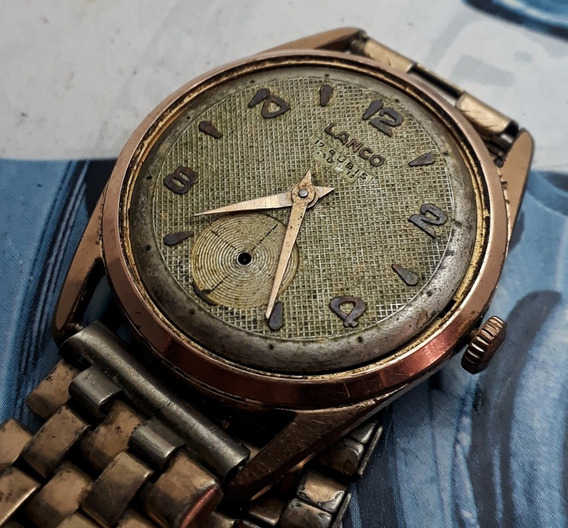 Relógio Lanco Corda Manual Para Restaurar