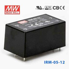 Fonte Chaveada 12v5w Meanwell Encapsul. Certificada Arduino