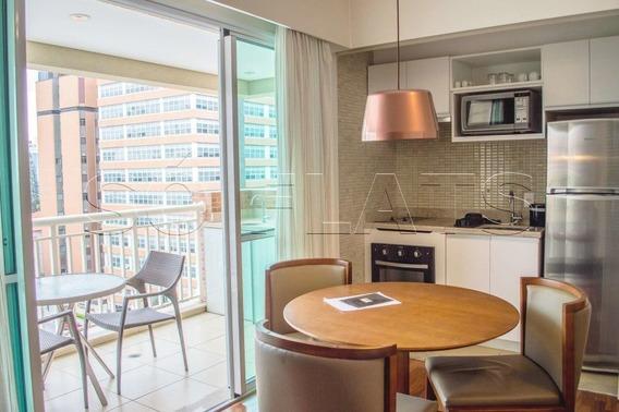 Flat De 02 Dorms No Jd. Paulista, Próximo Aos Hospitais Oswaldo Cruz E Sta. Catarina - Sf27241