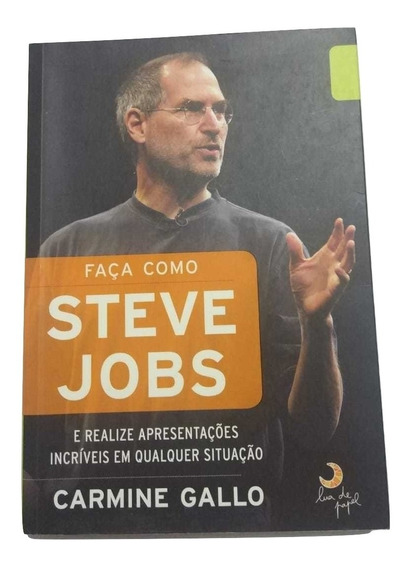 Livro Faça Como Steve Jobs