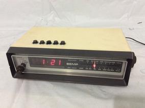 - Rádio Relógio Antigo Semp - Funciona Tudo - 80´s