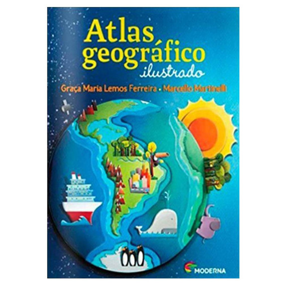 Atlas Geográfico Ilustrado 4 Ano