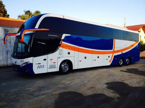 Ônibus Comil Campione Hd Ú Dono Leito Turismo Seminovo  B420