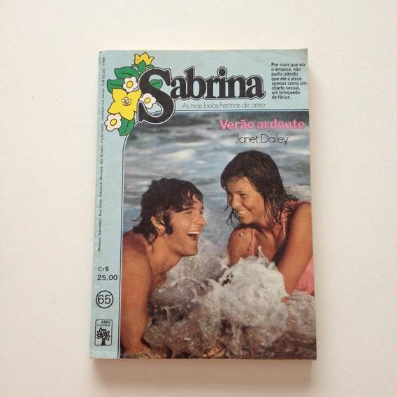 Livro Sabrina Verão Ardente N°65 Eei131