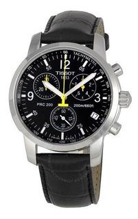 Reloj Tissot Prc200 T17152652 Cuarzo Cuero Original