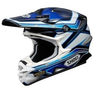 Casco Cross Shoei Vfx-w Capacitor Tc-2