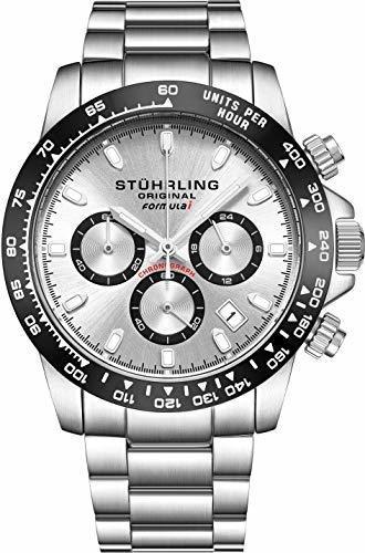 Stuhrling Original Reloj Deportivo Para Hombre, Cronógrafo,