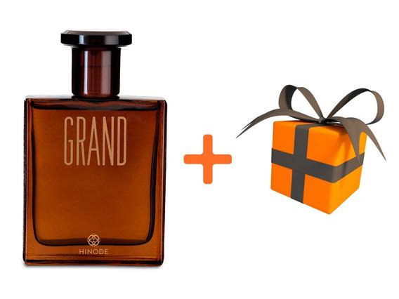 Perfume - Grand Marrom Hinode + 02 Brindes Grátis