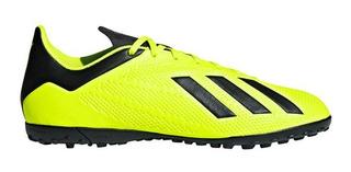 Zapatillas adidas Fútbol X Tango 18.4 Tf Grass Oferta 2019