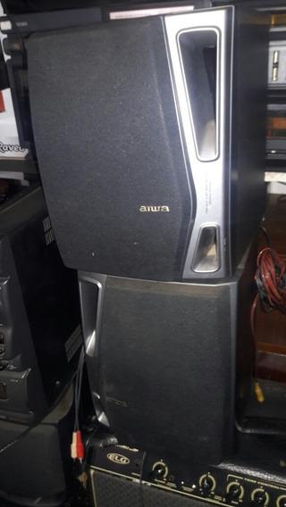 Caixas Acústicas Aiwa Modelo Sxns94 Barata 230 Reais