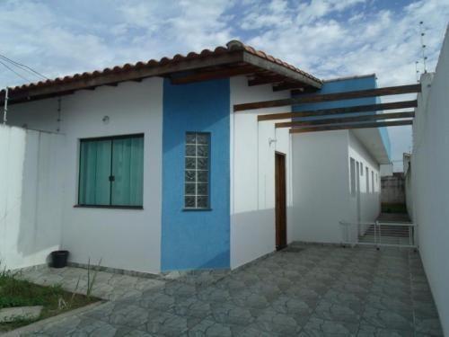 Ótima Casa Lado Praia Em Peruibe Litoral Sul - 5874   Npc
