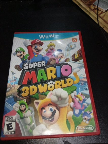 Super Mario 3d World Nintendo Wi U