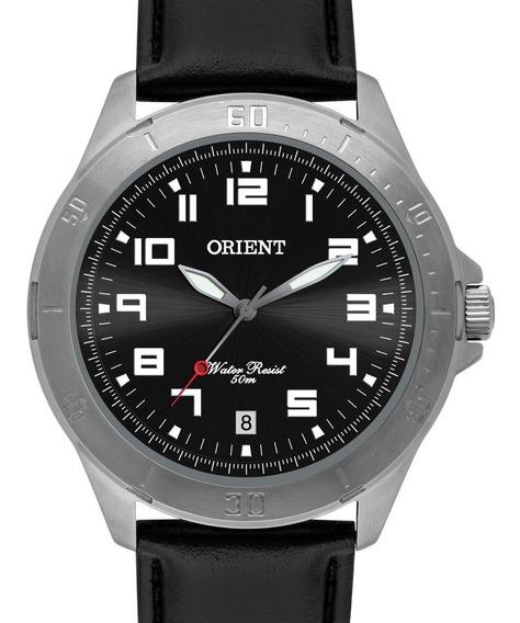 Relógio Orient Masculino Couro Mbsc1032 G2px