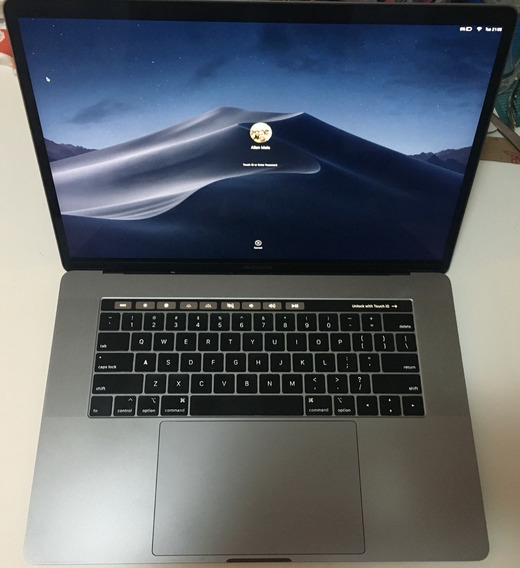 Macbook Pro 2018 15 I7,16gb,256gb,touch Bar,touchid,nf