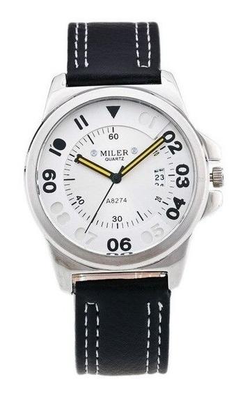 Relógio De Pulso Masculino Miler Original A8274 Esportivo