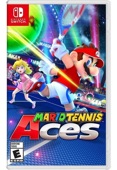 Mario Tennis Aces - Switch Mídia Física Lacrada Original